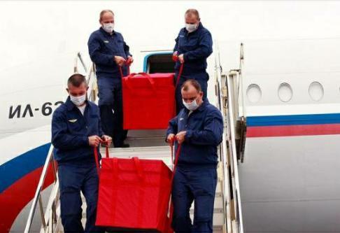 Llega a Venezuela primer cargamento de vacunas Sputnik V