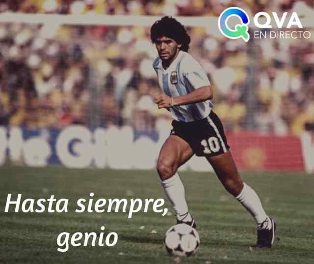 Decretan luto en Argentina por muerte de Maradona