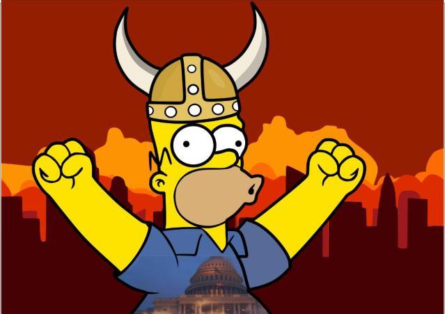 """La """"democracia"""" tiembla ante gorros de mapache"""