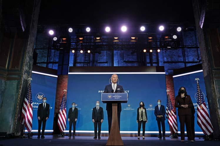 El gabinete de Biden