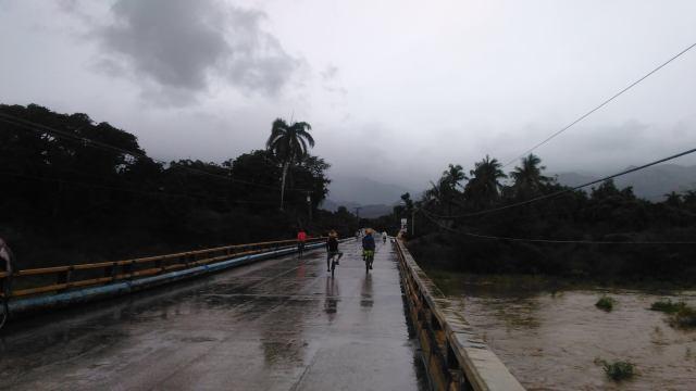 Inundaciones en el oriente cubano