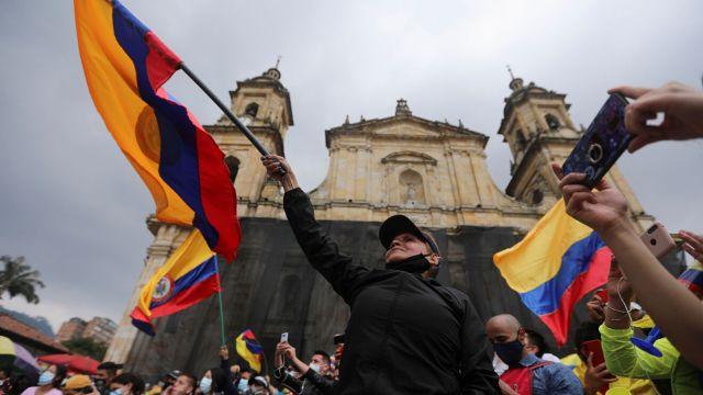 Las protestas de Colombia vistas desde el prisma de Twitter