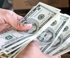 Dólar estadounidense, en papelito, no