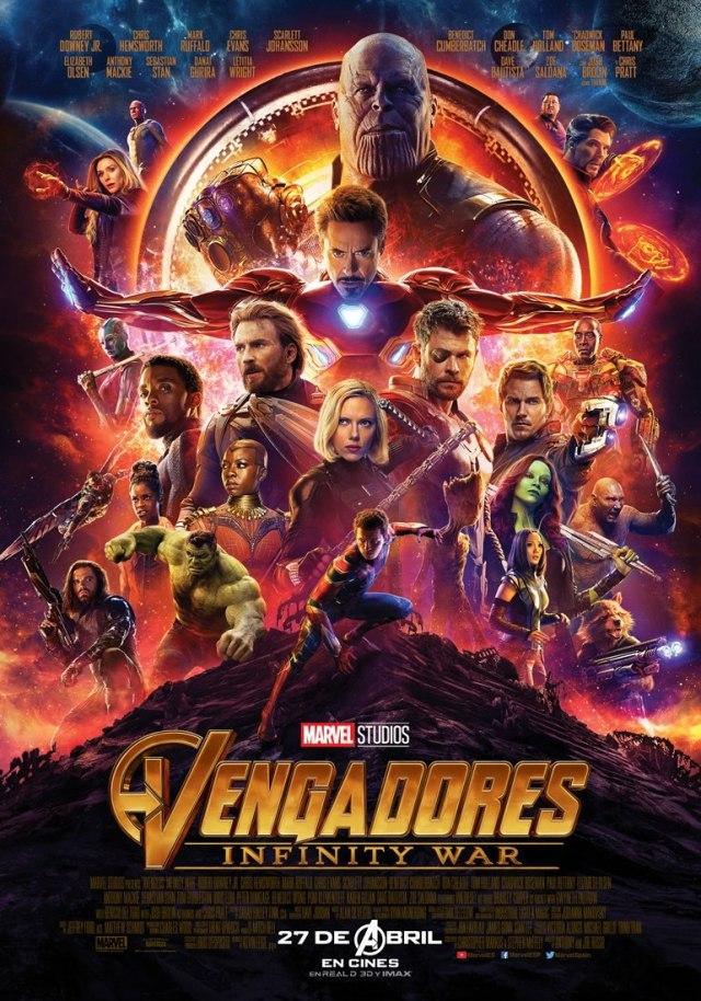 Vengadores: Infinity War, la mejor fórmula para el éxito