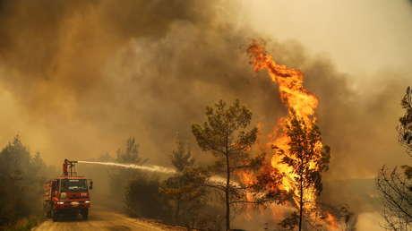 Turquía en llamas