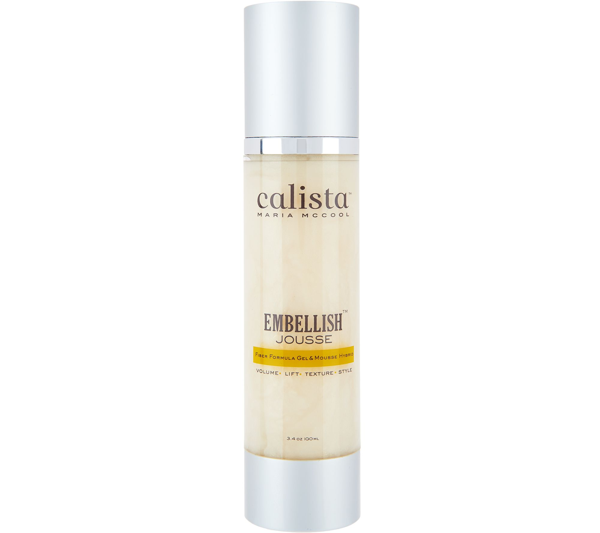 Calista Jousse Gel Mousse Volumizing Hair Styler Page