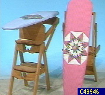 Choice of Ironing Board and Step Stool Combinations  QVCcom