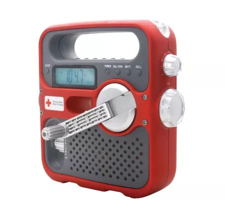 Eton American Red Cross Multipurpose Weather Radio QVCcom