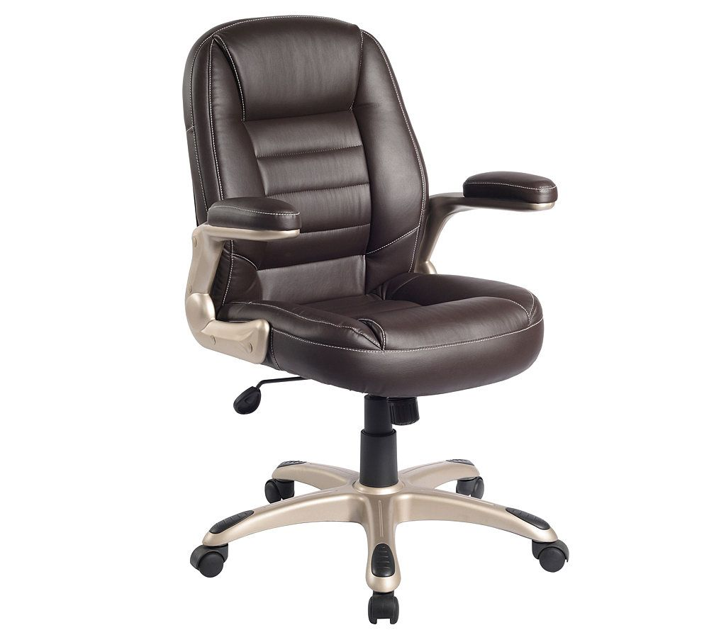 office chair qvc outdoor porch rocking chairs techni mobili ergonomic mid back page 1 com in stock