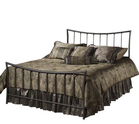 Hillsdale Furniture Edgewood Queen Bed Magnesium Pewter