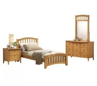 San Marino Twin Bedroom Set By Acme Furniture  QVC.com
