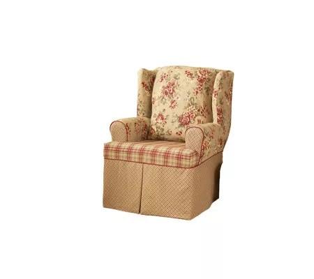 Sure Fit Lexington Wing Chair Slipcover  Page 1  QVCcom