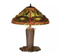 Tiffany-Style Dragonfly Table Lamp  QVC.com