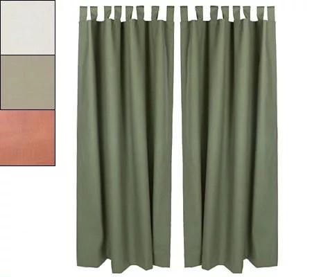 Fireside Insulated Curtains 54 Length  QVCcom