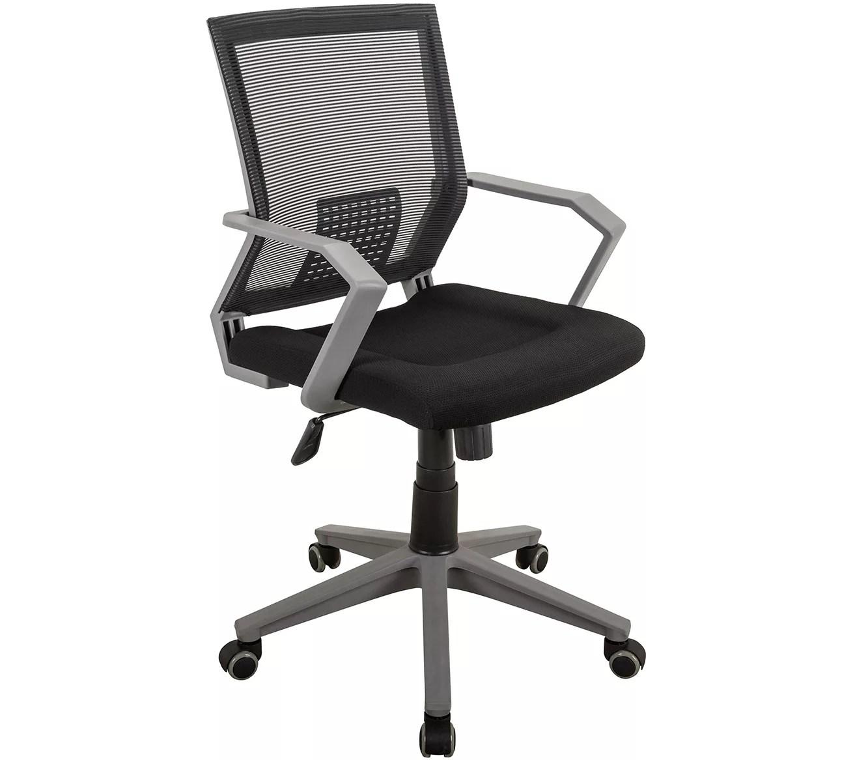 office chair qvc ergonomic guitar techni mobili rolling padded mesh task w arms com
