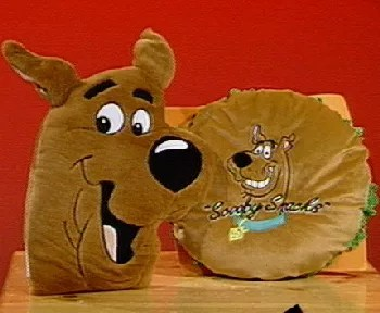 Warner Bros ScoobyDoo Plush Pillow  QVCcom