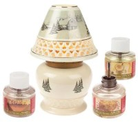 AromaGlow Scented Wickless Oil Lamp with Holder  QVC.com