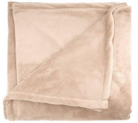 Berkshire Blanket King Size Serasoft Blanket — QVC.com