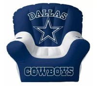Dallas Cowboys Inflatable Chair w/Built In Stereo Speakers ...