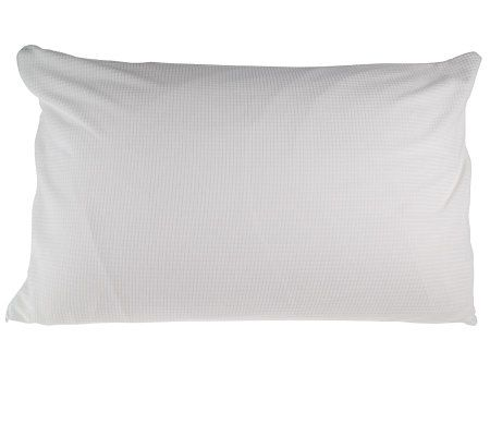 RejuveNite NuFORM Plush or Firm Bed Pillow with Cover