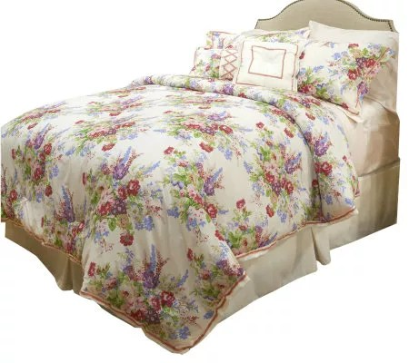 Raymond Waites Chantilly 6Pc King Comforter Set  Page 1