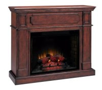 Olympia Large Wall Electric Antiqued Cherry-Finish ...