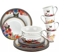 Lenox Melli Mello Porcelain 16pc Dinnerware Set - Page 1 ...
