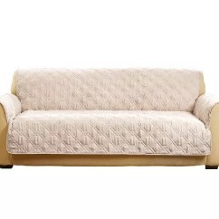 Sofa Waterproof Cover Ethan Allen Triad Sleeper Sure Fit Deluxe Non Skid Back Furniture Page