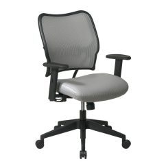 Office Chair Qvc Dining Covers Set Of 4 Star Gray Deluxe With Veraflex Com In Stock