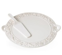 Cake Plate And Server