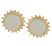Joan Rivers Pretty Pastels Cabochon Clip On Earrings ...