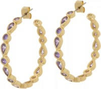 Melinda Maria Hoop Earrings