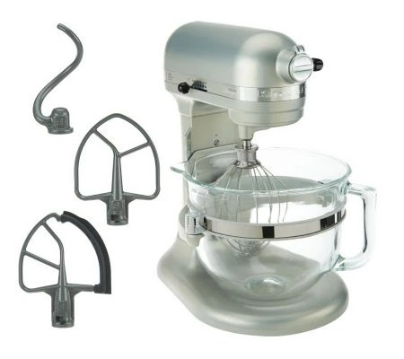 kitchen aid glass bowl outdoor kitchens houston kitchenaid 6 qt 575 watt lift stand mixer w flex edge 3