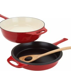 Qvc.com Shopping Kitchen How To Design Clearance Food Qvc Com Rachael Ray 4 Qt Cast Iron Chef Pan With Skillet Wooden Spoon K46860