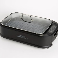 Qvc.com Shopping Kitchen Black And White Tile Cookware Baking Supplies More Food Qvc Com Power Smokeless Indoor Electric 1500w Grill W Griddle Plate K48367