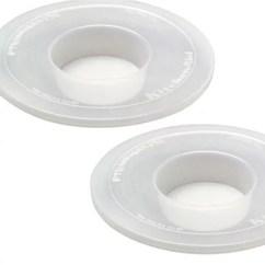 Kitchen Aid Bowls Utility Cart Kitchenaid 5 6 Qt Bowl Covers Set Of2 Page 1 Qvc Com