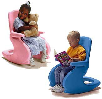 step 2 chair posture right rocking qvc com