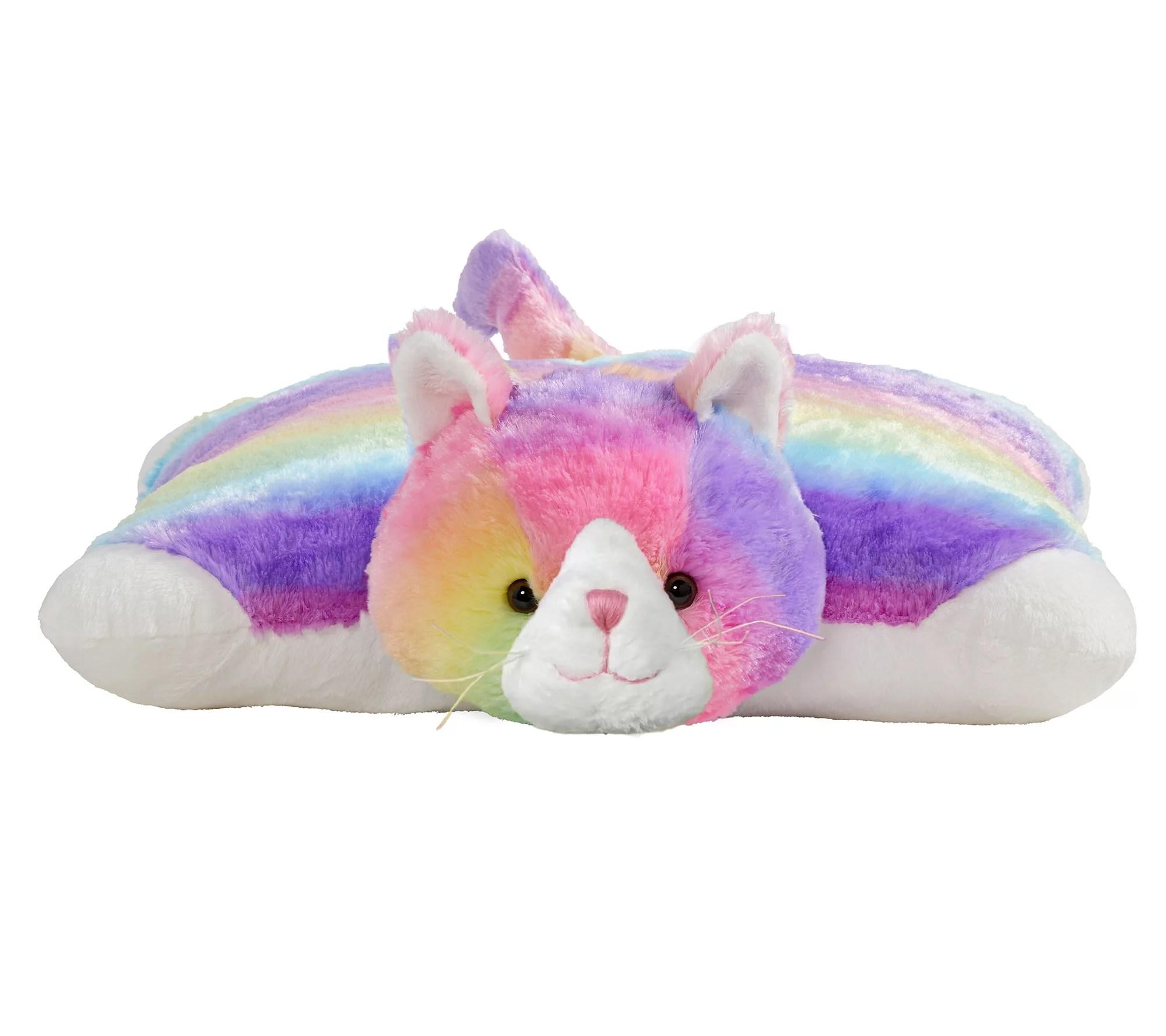 pillow pets originals cosmic cat stuffed animalplush toy qvc com