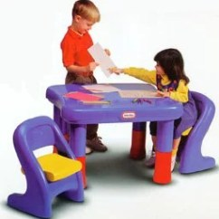 Little Tikes Adjustable Table And Chairs Floor Protectors For Office 7749 Set Qvc Com Product Thumbnail In Stock