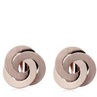 Frank Usher Interlocking Ring Clip On Earrings | QVCUK.com