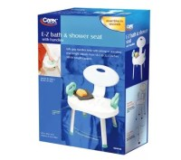 Carex E-Z Bath and Shower Seat with Handles  QVC.com
