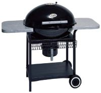 Patio Classic 6000 Black Charcoal Grill - Page 1  QVC.com