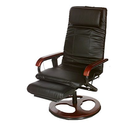 office chair qvc best rocking 10 mode heated massaging with footrest com in stock