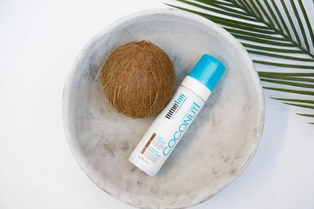 MINE TAN Coconut 1 Hour Express Tan