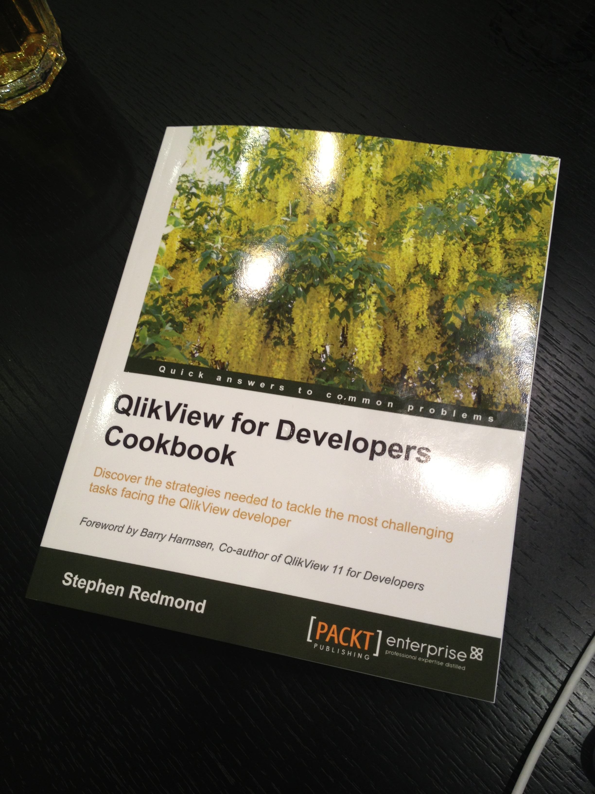 Book Review Qlikview for Developers Cookbook by Stephen Redmond  QVDesign