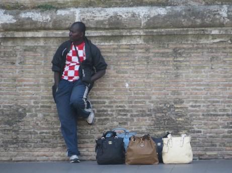 Gente en Roma
