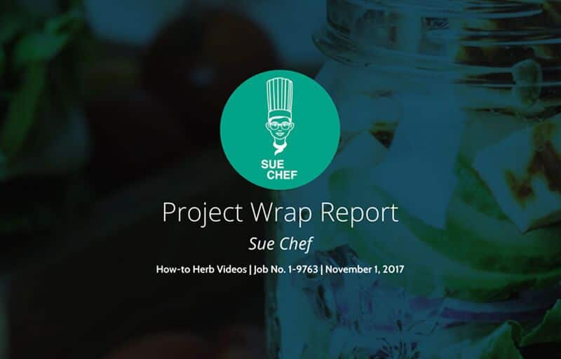 Video Production Project Report Template
