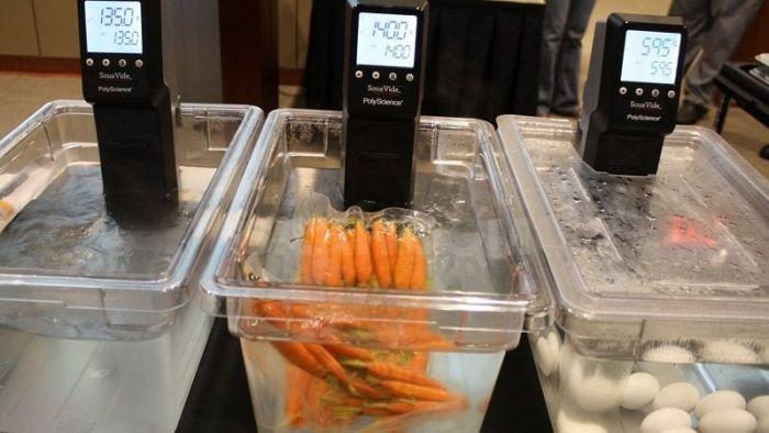 Обработка продуктов при низкой температуре