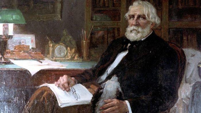 Писатель Иван Тургенев
