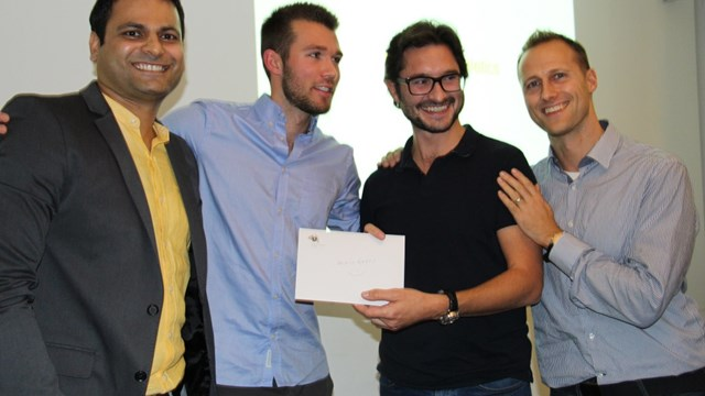 The 2nd edition of AISTS Sports Quiz Night winners, Lausanne (Oct 2015)